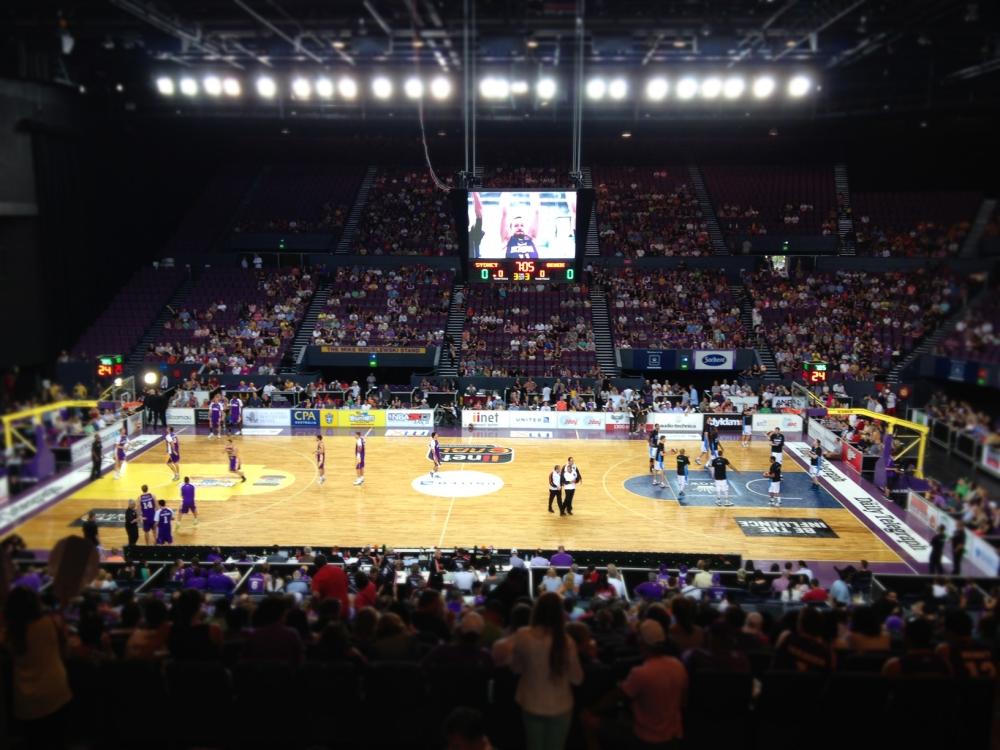 NZ Breakers Sydney Kings
