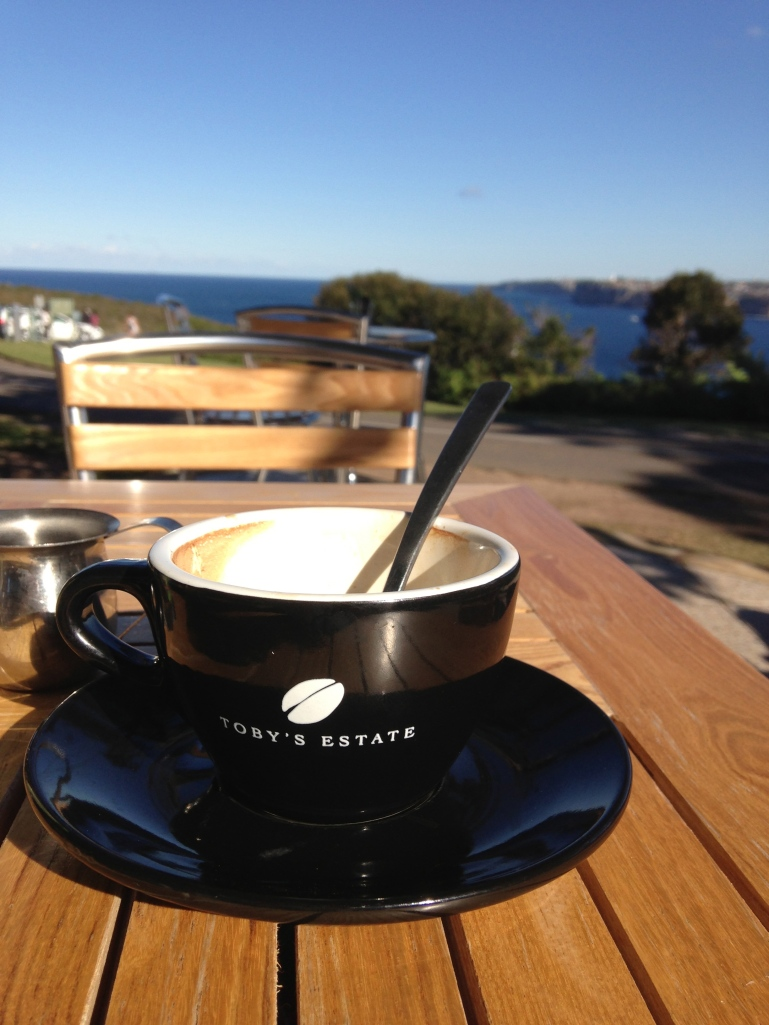 Coffee at North Head, Manly