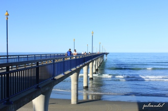 New Brighton pier, Christchurch, NZ