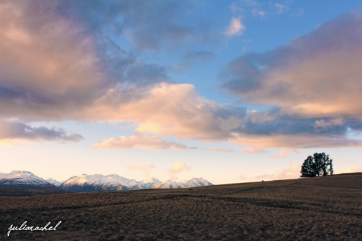Tekapo sunset - JuliaRachel Photography
