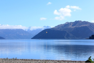 Parasailer on Lake Wanaka - JuliaRachel Photography