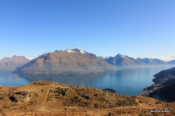 The view from Queenstown Hill